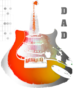 Dad Guitar T-Shirt Amazon Guitarwacky