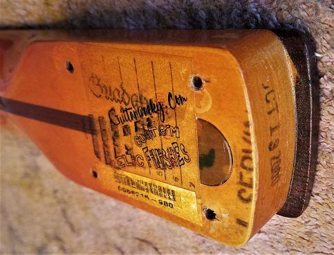 Guitarwacky.com Relice Rosewood Neck