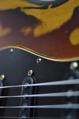 Fender Stratocaster Relic Sunburst Pick Guard Guitarwacky.com