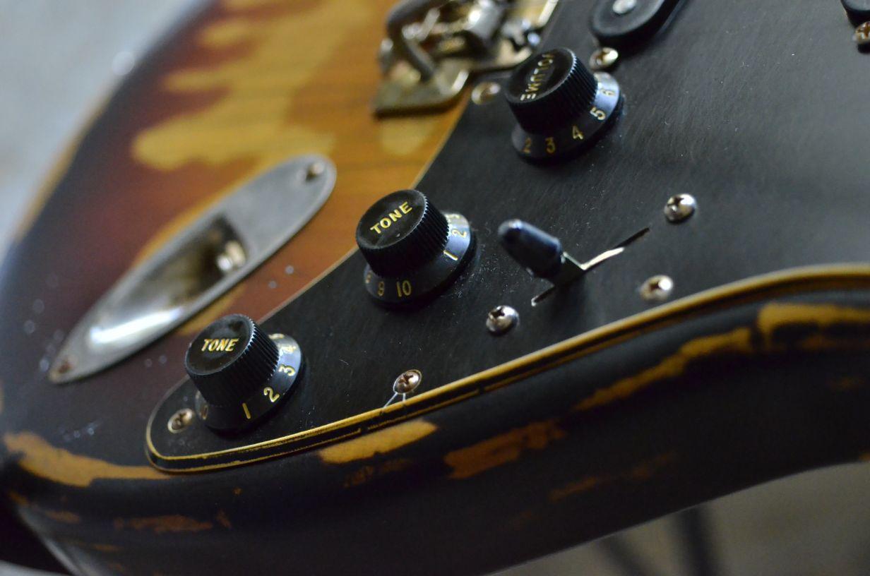 Fender Stratocaster Relic Knobs Guitarwacky.com