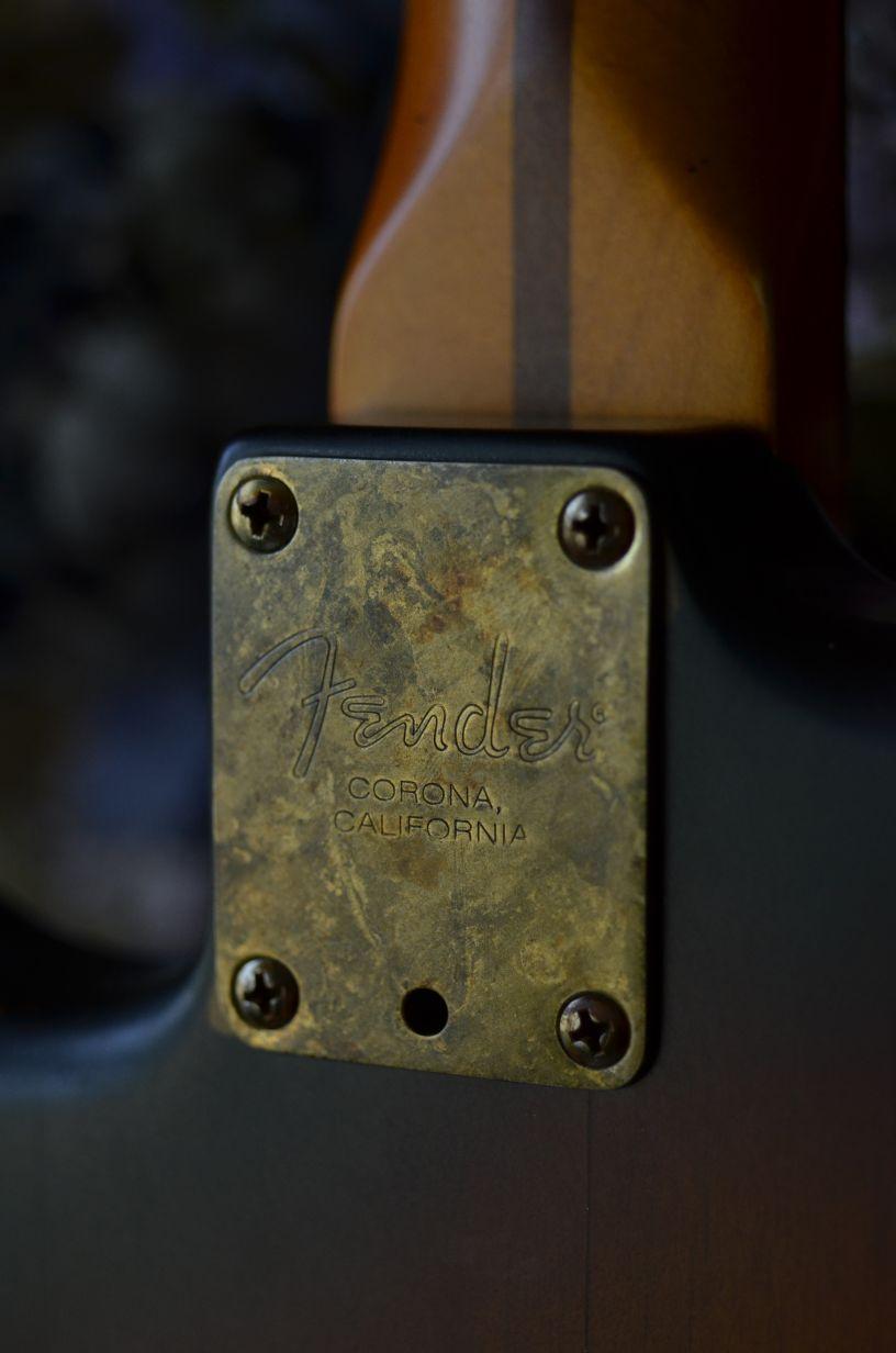 Fender Stratocaster Relic Neck Plate Guitarwacky.com