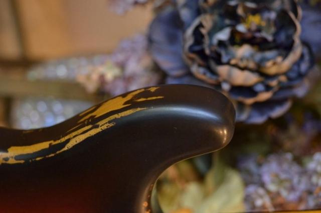 Fender Stratocaster Relic back Horn Guitarwacky.com