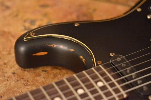 Fender Stratocaster Relic Sunburst Neck Horn Guitarwacky.com