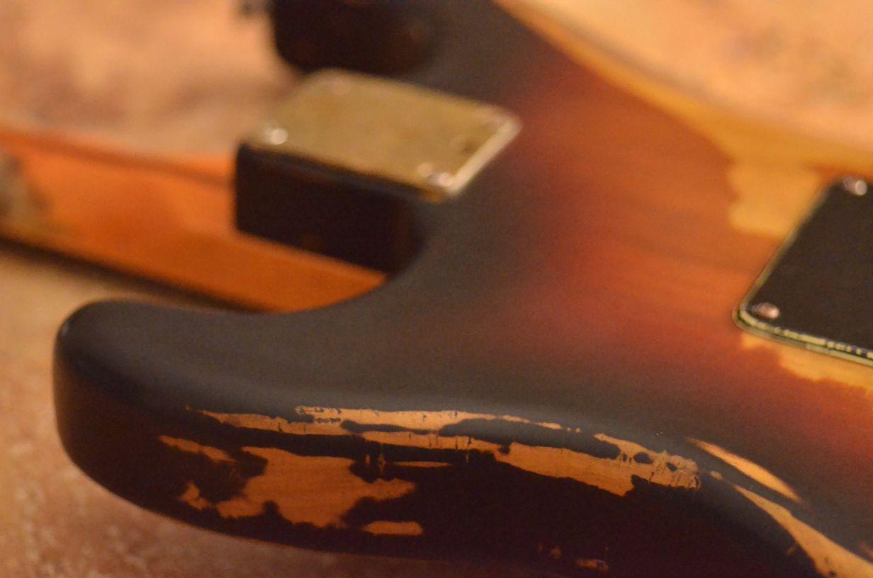 Fender Stratocaster Relic Sunburst Guitarwacky.com