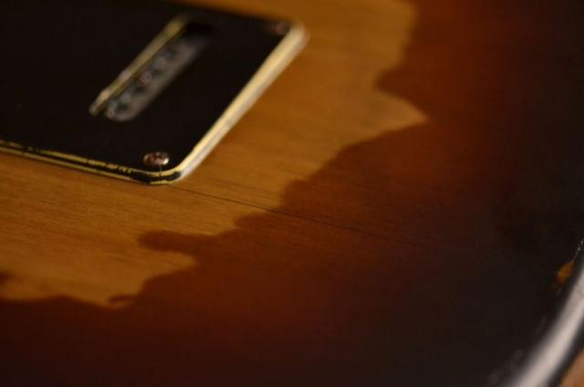 Fender Stratocaster Relic Tremolo Cover Guitarwacky.com