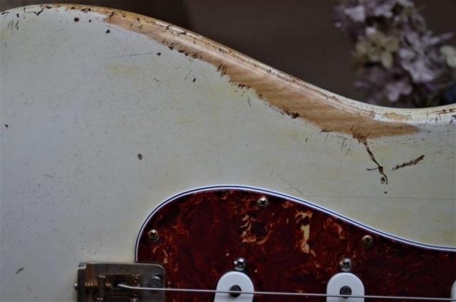 Fender Stratocaster White Relic Tortise Shell Guitarwacky.com