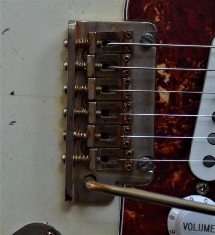 Fender Stratocaster Vintage Bridge Relic Tortise Shell Guitarwacky.com
