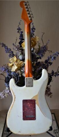 Fender Stratocaster Worn Neck White Relic Tortise Shell Guitarwacky.com