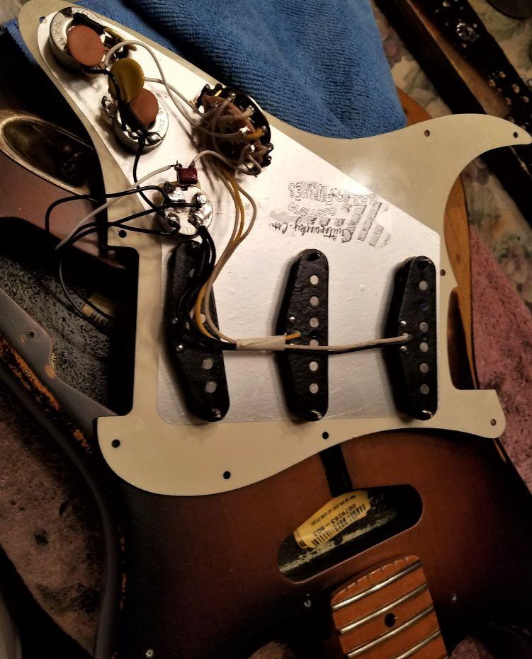 Fender Stratocaster Custom Shop Texas Specials