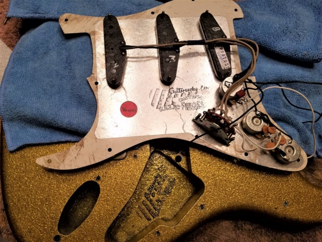 Duncan Texas Hot Antiquities Guitarwacky.com  body