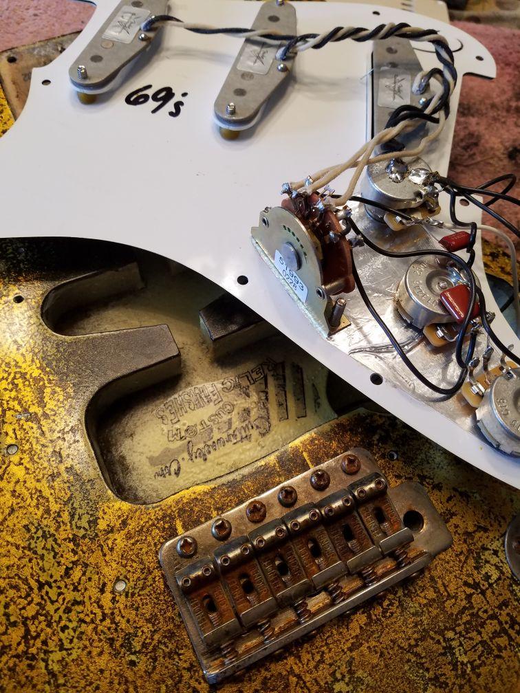 Fender Custom Shop 69 Single Coil Pickups