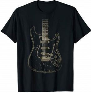 Distressed Guitar T-Shirt