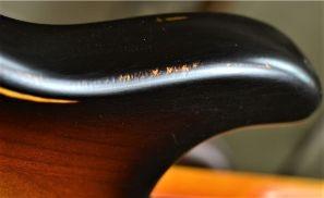 Fender Stratocaster Relic Horn Wear