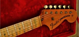 Fender Stratocaster Relic Maple Neck Ping Tuners
