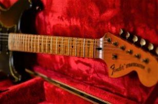 Fender Stratocaster Relic Maple Neck Headstock Wear Pattern