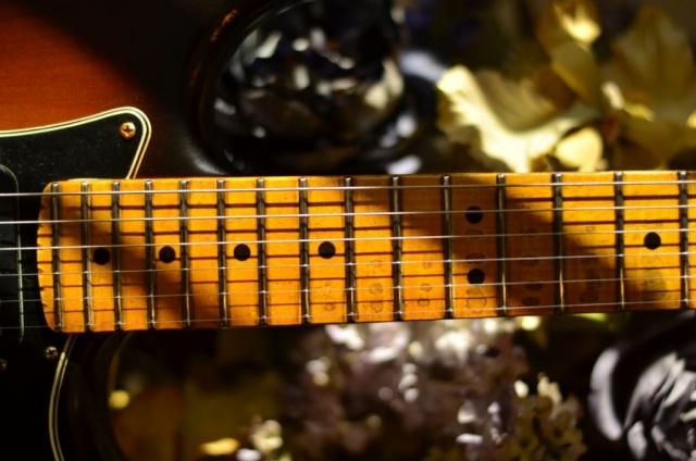 Fender Stratocaster Relic Maple Neck Wear