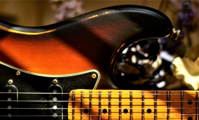 Fender Stratocaster Relic Maple Neck Upper Horn