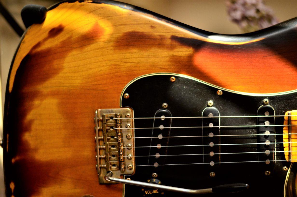 Sunburst Fender Stratocaster Relic