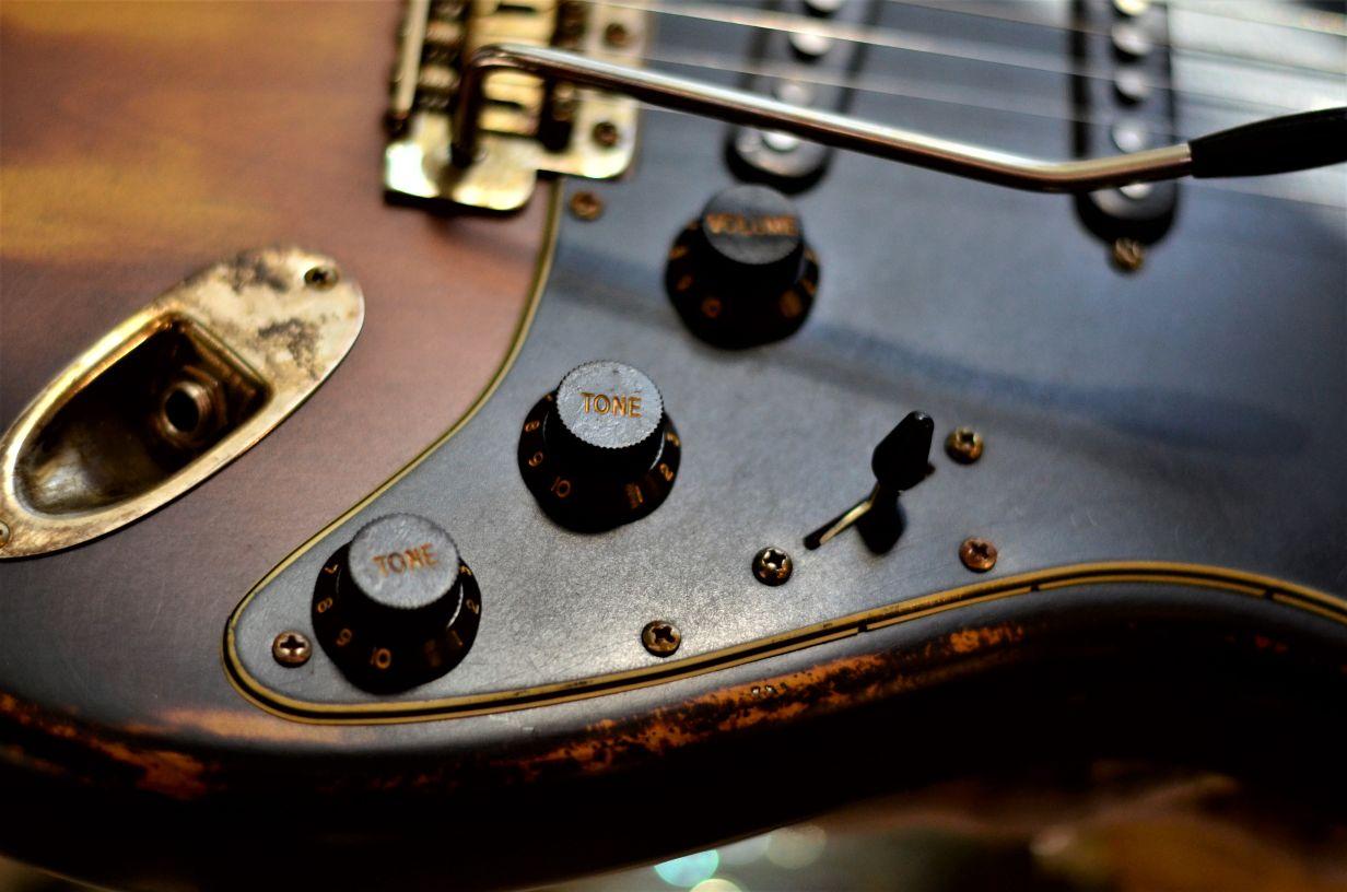 Sunburst Fender Stratocaster Relic Selector Switch