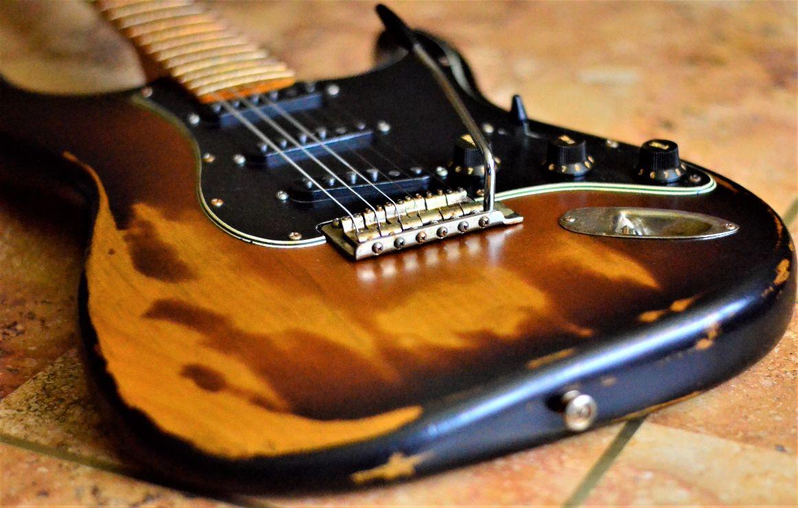 Sunburst Fender Stratocaster Heavy Relic