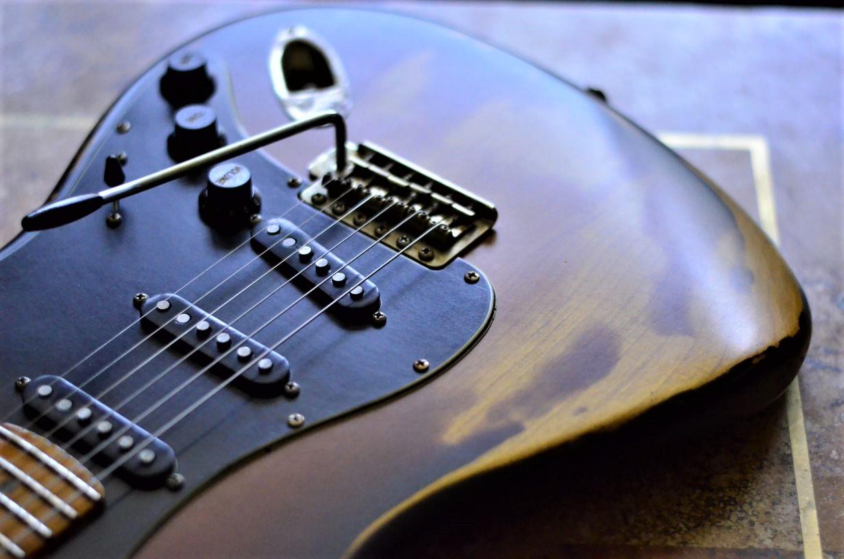 Fender Strat Relic Sunburst