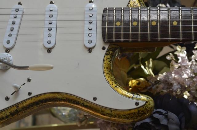 Reli Fender Strat  Gold Leaf Guitar