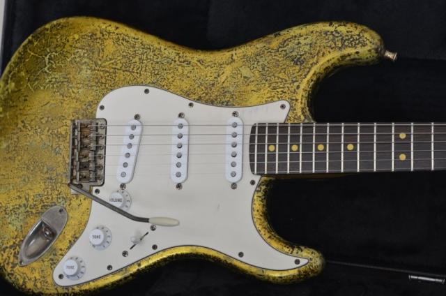 Fender Stratocaster Custom Aged Relic Gold Leaf