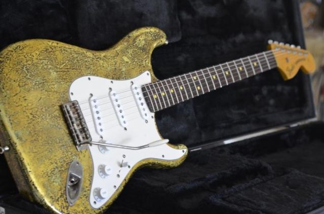 Vintage Relic Fender Stratocaster Custom Gold Leaf