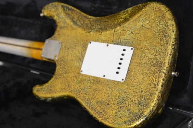 Fender Stratocaster Custom Gold Leaf Neck Wear