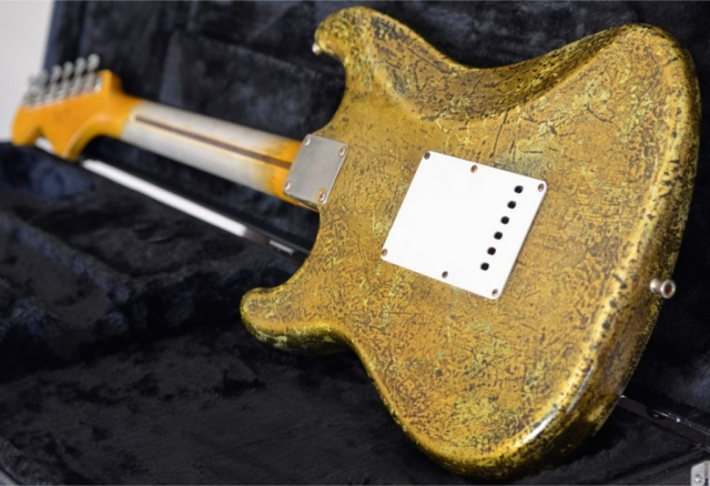 Fender Stratocaster Maple Neck Gold Leaf