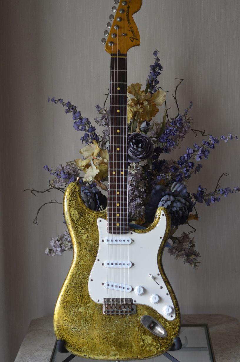One-Off Fender Stratocaster Gold Leaf Relic