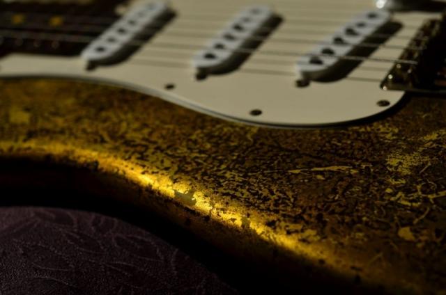 Fender Stratocaster Custom Gold Leaf Aged Relic