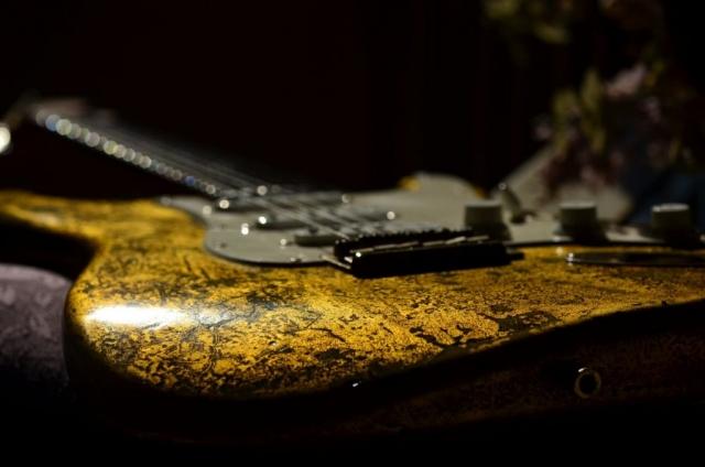 Fender Stratocaster Custom Gold Leaf Relic