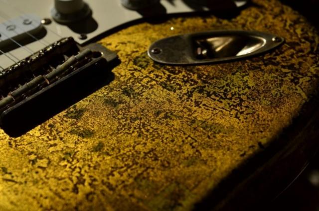 Fender Stratocaster Custom Gold Leaf Tremolo