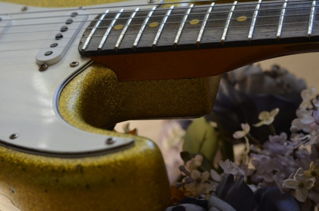 Fender Stratocaster Relic wear