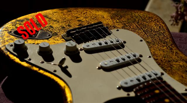 Fender Gold Leaf Stratocaster