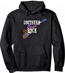 Southern Rock Guitar Hoodie