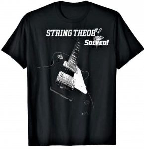 String Theory Guitar Shirt