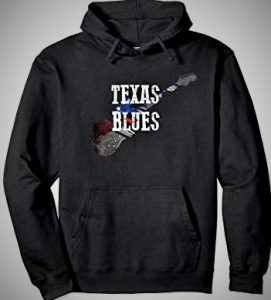 Texas Blues Guitar Hoodie
