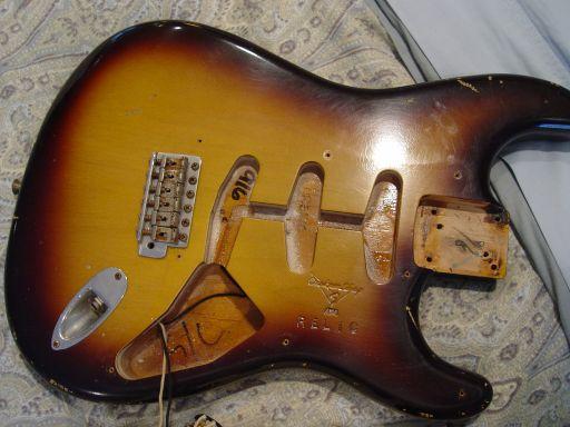 Strat Body Fender Custom Shop Relic Stratocaster