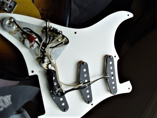 Pickguard Pickups Fender Custom Shop Relic Stratocaster