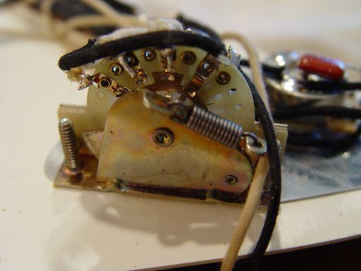 Selector Switch Fender Custom Shop Relic Stratocaster