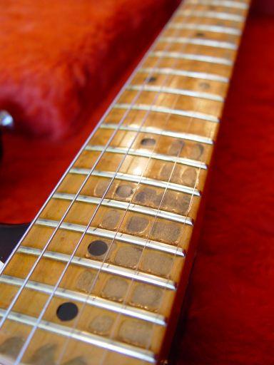 Finger Wear Vince Cunetto Fender Custom Shop Relic Stratocaster Neck