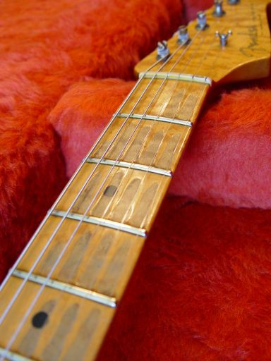 Birdseye Neck Fender Custom Shop Relic Stratocaster