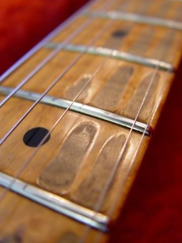 Neck Frets Finger Wear Fender Custom Shop Relic Stratocaster