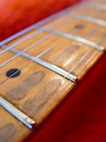 Maple Neck Frets Wear Fender Custom Shop Relic Stratocaster