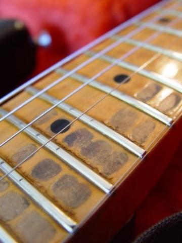 Relic Neck Finger Wear Fender Custom Shop Relic Stratocaster
