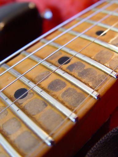 Relic Neck Cunetto Fender Custom Shop Relic Stratocaster