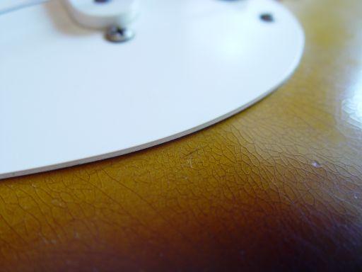 Fender Custom Shop Relic Stratocaster Checking Finish