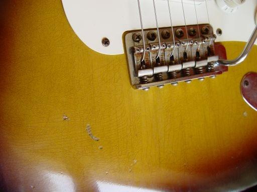 Fender Custom Shop Relic Stratocaster Sunburst